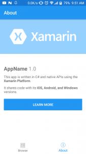 Xamarin Forms Shell TabBar