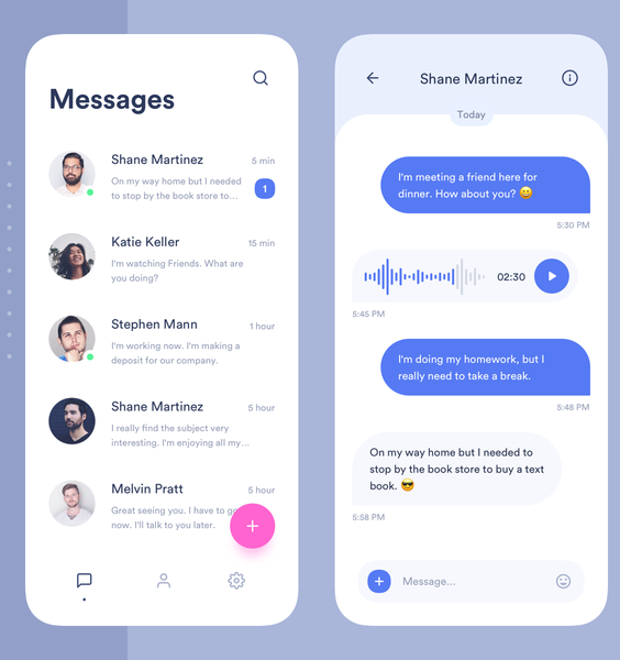 Complete chat app